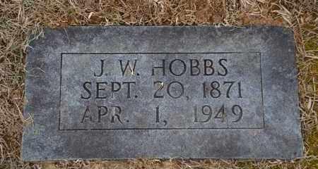 HOBBS, J.W. - Sullivan County, Tennessee | J.W. HOBBS - Tennessee Gravestone Photos