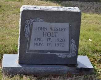 HOLT, JOHN WESLEY - Sullivan County, Tennessee | JOHN WESLEY HOLT - Tennessee Gravestone Photos
