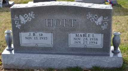 HOLT, MABLE L - Sullivan County, Tennessee | MABLE L HOLT - Tennessee Gravestone Photos