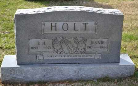 HOLT, P.H. - Sullivan County, Tennessee | P.H. HOLT - Tennessee Gravestone Photos