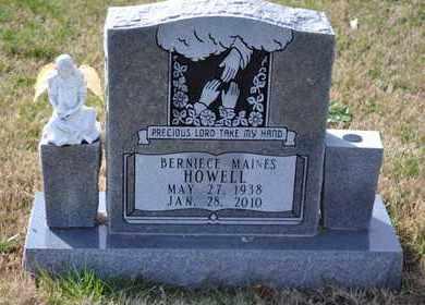 HOWELL, BERNIECE - Sullivan County, Tennessee | BERNIECE HOWELL - Tennessee Gravestone Photos