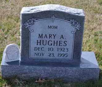 HUGHES, MARY A - Sullivan County, Tennessee | MARY A HUGHES - Tennessee Gravestone Photos