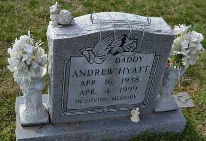 HYATT, ANDREW - Sullivan County, Tennessee | ANDREW HYATT - Tennessee Gravestone Photos