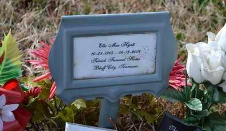 HYATT, ELLA MAE - Sullivan County, Tennessee | ELLA MAE HYATT - Tennessee Gravestone Photos