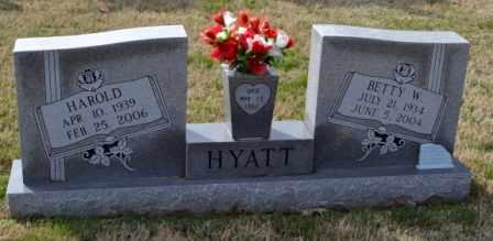 HYATT, HAROLD - Sullivan County, Tennessee | HAROLD HYATT - Tennessee Gravestone Photos