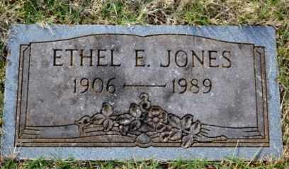 JONES, ETHEL E - Sullivan County, Tennessee   ETHEL E JONES - Tennessee Gravestone Photos