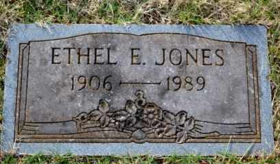 JONES, ETHEL E - Sullivan County, Tennessee | ETHEL E JONES - Tennessee Gravestone Photos