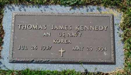 KENNEDY (VETERAN KOR), THOMAS JAMES - Sullivan County, Tennessee | THOMAS JAMES KENNEDY (VETERAN KOR) - Tennessee Gravestone Photos