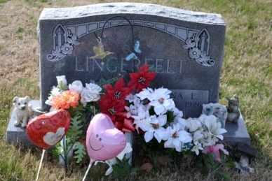 LINGERFELT, VERNA L - Sullivan County, Tennessee | VERNA L LINGERFELT - Tennessee Gravestone Photos