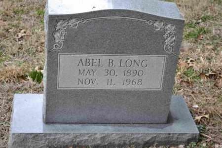 LONG, ABEL B - Sullivan County, Tennessee   ABEL B LONG - Tennessee Gravestone Photos