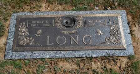 LONG, DEWEY K - Sullivan County, Tennessee | DEWEY K LONG - Tennessee Gravestone Photos