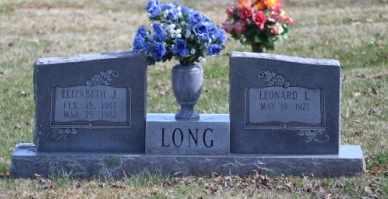 LONG, ELIZABETH J - Sullivan County, Tennessee | ELIZABETH J LONG - Tennessee Gravestone Photos