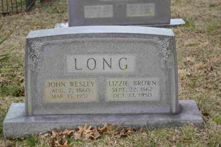 LONG, JOHN WESLEY - Sullivan County, Tennessee | JOHN WESLEY LONG - Tennessee Gravestone Photos