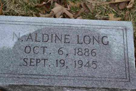 LONG, N. ALDINE - Sullivan County, Tennessee | N. ALDINE LONG - Tennessee Gravestone Photos