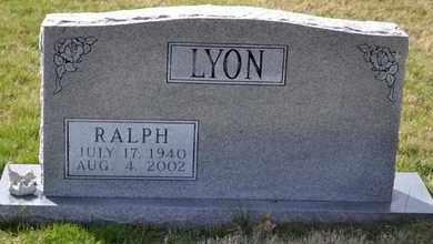 LYON, RALPH - Sullivan County, Tennessee | RALPH LYON - Tennessee Gravestone Photos