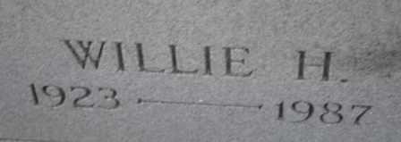 LYON, WILLIE H (CLOSE UP) - Sullivan County, Tennessee | WILLIE H (CLOSE UP) LYON - Tennessee Gravestone Photos