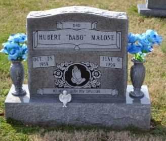 MALONE, HUBERT - Sullivan County, Tennessee | HUBERT MALONE - Tennessee Gravestone Photos
