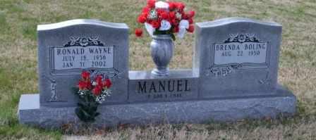 MANUEL, RONALD WAYNE - Sullivan County, Tennessee | RONALD WAYNE MANUEL - Tennessee Gravestone Photos