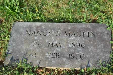 MAUPIN, NANCY S - Sullivan County, Tennessee | NANCY S MAUPIN - Tennessee Gravestone Photos