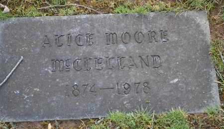MCCLELLAND, ALICE - Sullivan County, Tennessee | ALICE MCCLELLAND - Tennessee Gravestone Photos
