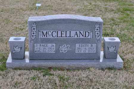 MCCLELLAND, JOHN PAGE, JR - Sullivan County, Tennessee | JOHN PAGE, JR MCCLELLAND - Tennessee Gravestone Photos