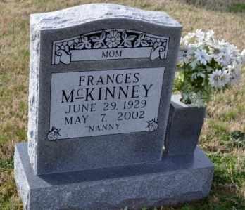 MCKINNEY, FRANCES - Sullivan County, Tennessee | FRANCES MCKINNEY - Tennessee Gravestone Photos