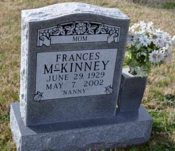 MCKINNEY, FRANCES - Sullivan County, Tennessee | FRANCES MCKINNEY - Tennessee Gravestone Photos