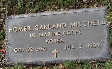MITCHELL (VETERAN KOR), HOMER GARLAND - Sullivan County, Tennessee | HOMER GARLAND MITCHELL (VETERAN KOR) - Tennessee Gravestone Photos