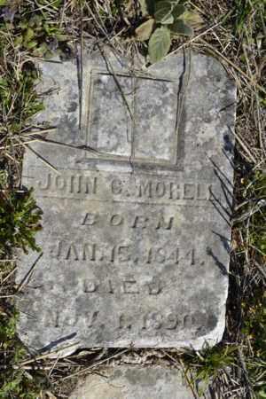 MORELL, JOHN C - Sullivan County, Tennessee | JOHN C MORELL - Tennessee Gravestone Photos