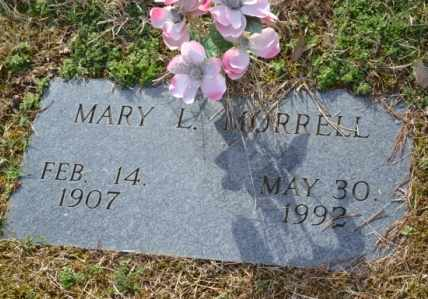 MORRELL, MARY L - Sullivan County, Tennessee | MARY L MORRELL - Tennessee Gravestone Photos