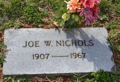 NICHOLS, JOE W - Sullivan County, Tennessee | JOE W NICHOLS - Tennessee Gravestone Photos