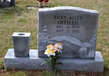 OFFIELD, RICKY ALLEN - Sullivan County, Tennessee | RICKY ALLEN OFFIELD - Tennessee Gravestone Photos