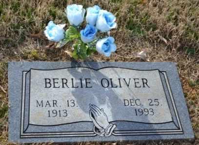 OLIVER, BERLIE - Sullivan County, Tennessee | BERLIE OLIVER - Tennessee Gravestone Photos
