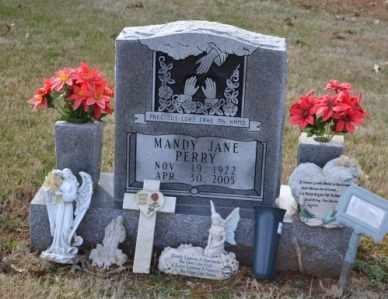 WILLIAMS PERRY, MANDY JANE - Sullivan County, Tennessee | MANDY JANE WILLIAMS PERRY - Tennessee Gravestone Photos