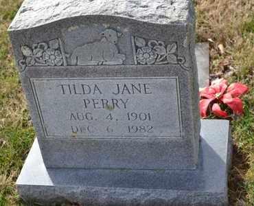 PERRY, TILDA JANE - Sullivan County, Tennessee | TILDA JANE PERRY - Tennessee Gravestone Photos