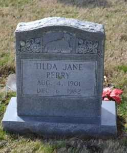 PERRY, TILDA JANE - Sullivan County, Tennessee | TILDA JANE PERRY - Tennessee Gravestone Photos