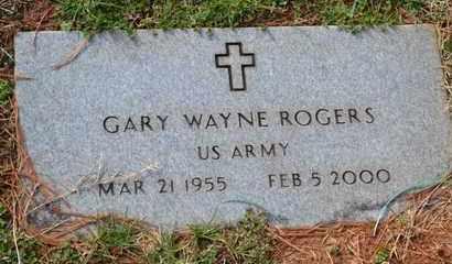 ROGERS (VETERAN), GARY WAYNE - Sullivan County, Tennessee | GARY WAYNE ROGERS (VETERAN) - Tennessee Gravestone Photos