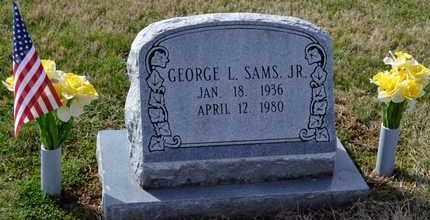 SAMS, GEORGE L, JR - Sullivan County, Tennessee | GEORGE L, JR SAMS - Tennessee Gravestone Photos