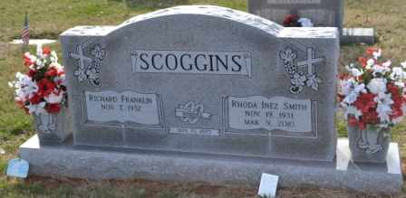 SMITH SCOGGINS, RHODA INEZ - Sullivan County, Tennessee   RHODA INEZ SMITH SCOGGINS - Tennessee Gravestone Photos