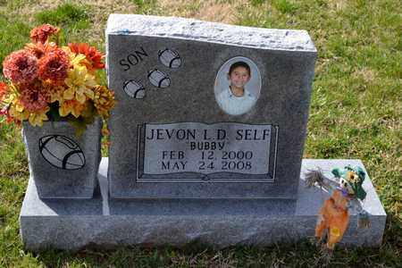 SELF, JEVON LEWIS DAYSHAWN - Sullivan County, Tennessee | JEVON LEWIS DAYSHAWN SELF - Tennessee Gravestone Photos