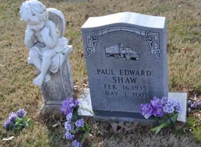 SHAW, PAUL EDWARD - Sullivan County, Tennessee   PAUL EDWARD SHAW - Tennessee Gravestone Photos