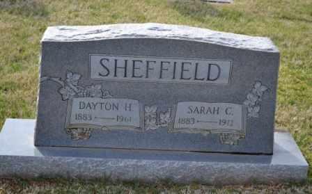 SHEFFIELD, DAYTON H - Sullivan County, Tennessee | DAYTON H SHEFFIELD - Tennessee Gravestone Photos