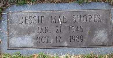 SHORES, DESSIE MAE - Sullivan County, Tennessee | DESSIE MAE SHORES - Tennessee Gravestone Photos