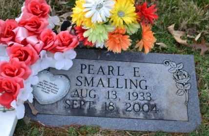 SMALLING, PEARL E - Sullivan County, Tennessee | PEARL E SMALLING - Tennessee Gravestone Photos
