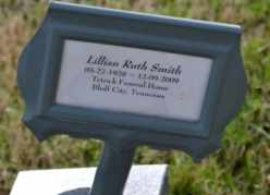 SMITH, LILLIAN RUTH - Sullivan County, Tennessee | LILLIAN RUTH SMITH - Tennessee Gravestone Photos