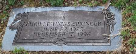 SPRINGER, LUCILLE - Sullivan County, Tennessee | LUCILLE SPRINGER - Tennessee Gravestone Photos