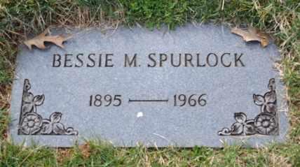 SPURLOCK, BESSIE M - Sullivan County, Tennessee | BESSIE M SPURLOCK - Tennessee Gravestone Photos