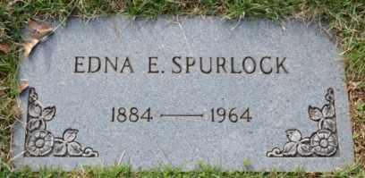 SPURLOCK, EDNA E - Sullivan County, Tennessee   EDNA E SPURLOCK - Tennessee Gravestone Photos