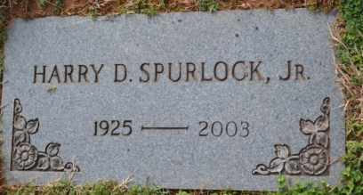 SPURLOCK, HARRY D, JR - Sullivan County, Tennessee | HARRY D, JR SPURLOCK - Tennessee Gravestone Photos