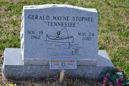 STOPHEL, GERALD WAYNE - Sullivan County, Tennessee   GERALD WAYNE STOPHEL - Tennessee Gravestone Photos